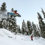 Катание на Сноуборде в Шерегеше